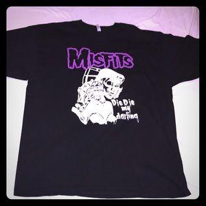 Misfits Die Die my darling punk rock XXL T-shirt